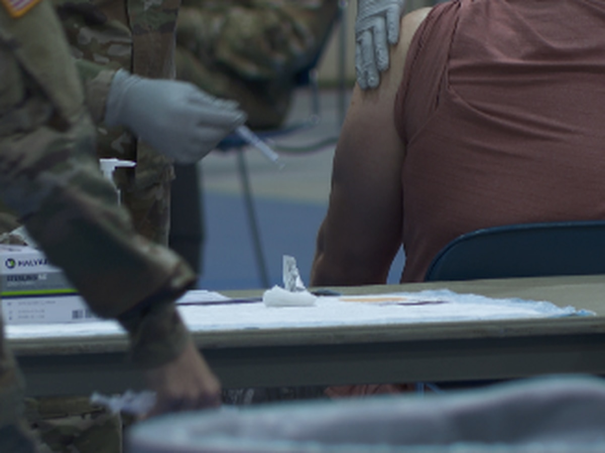 From hesitancy to hope: Fort Jackson officials see positive shift in vaccination rates
