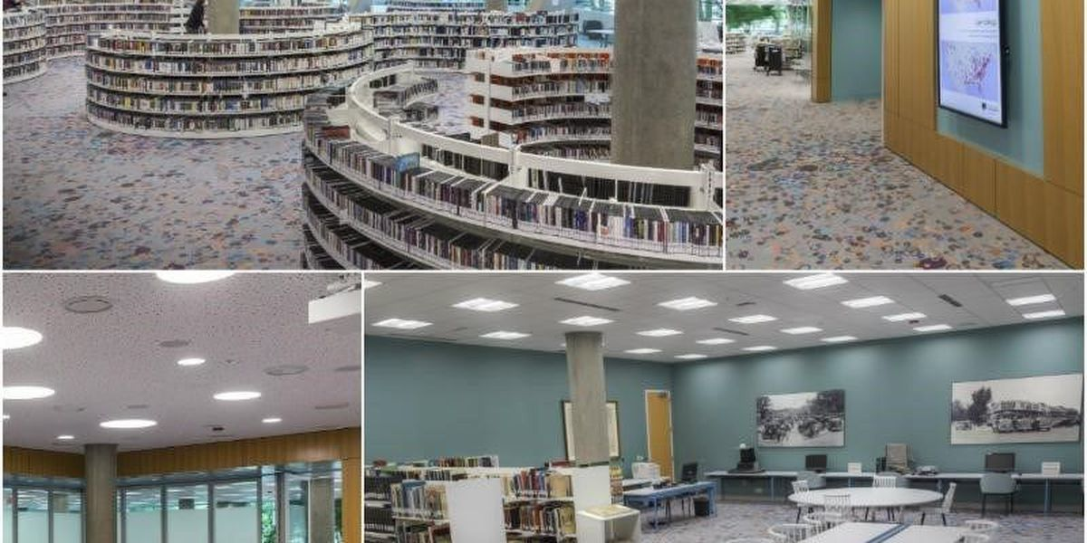 VIDEO TOUR: Richland Library's newly renovated first level