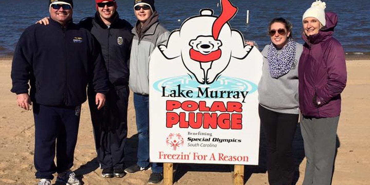 Freezin' for a Reason: Lake Murray Polar Plunge for Special Olympics still on this year