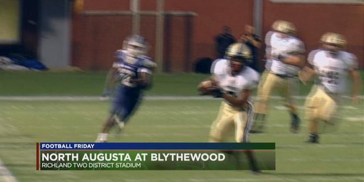 Play 4: Blythewood's Collin Williams lowers the boom against North Augusta