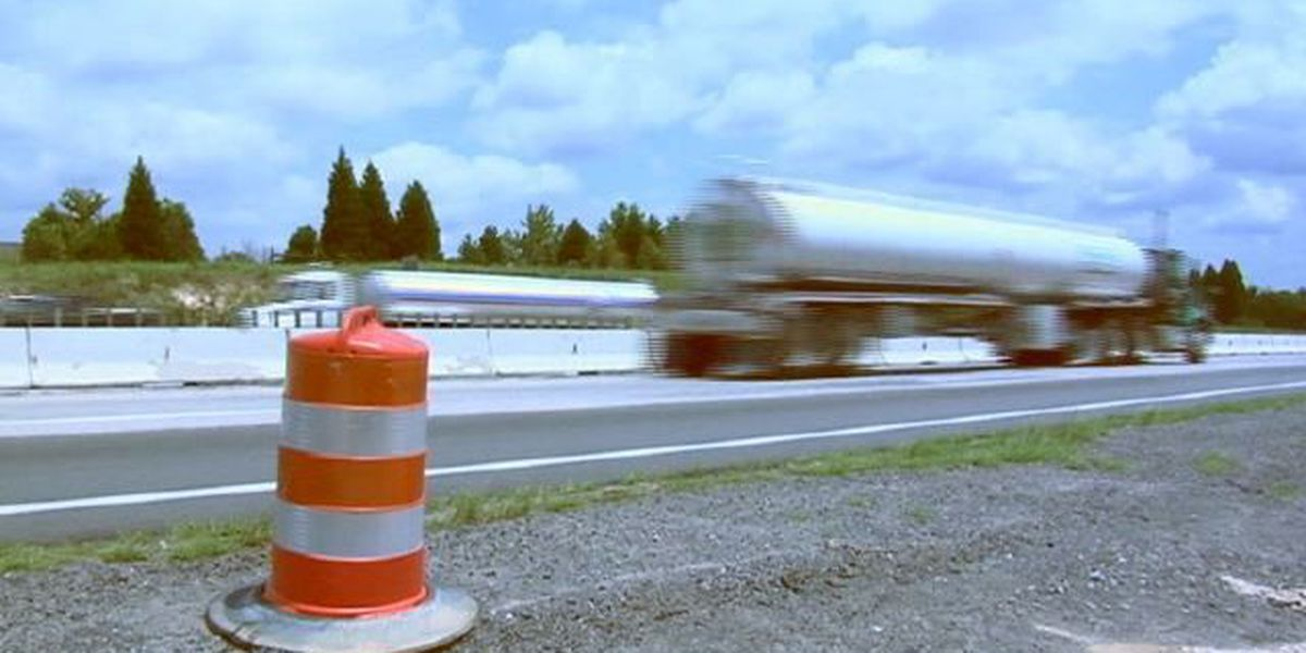 DOT urging motorists to brake, obey work zone speed limits
