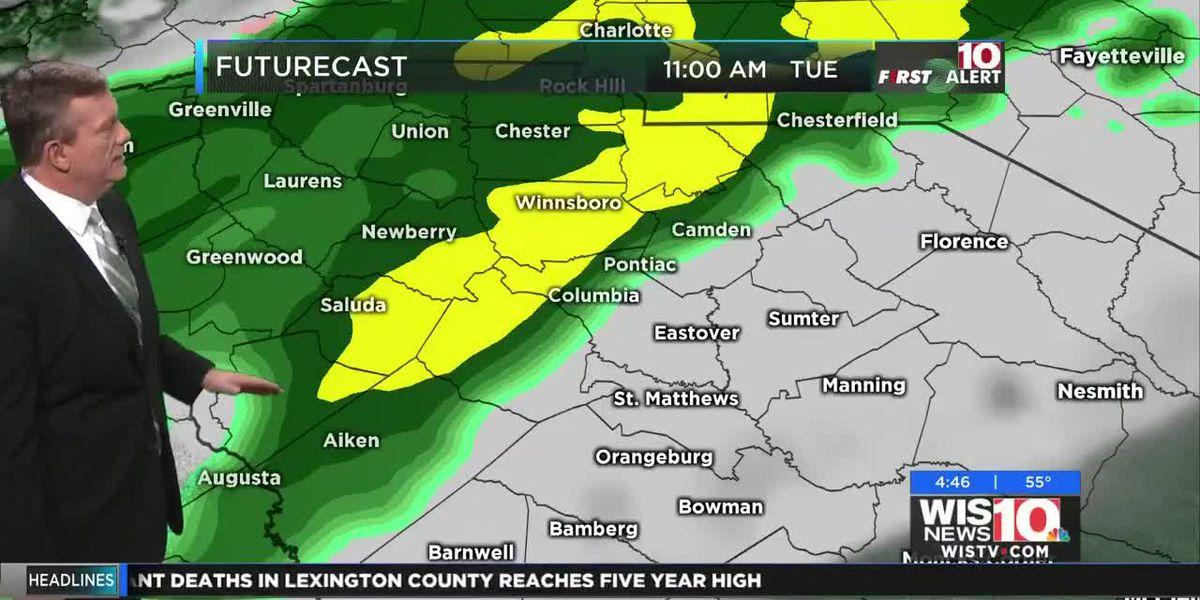 First Alert Forecast: MAJOR Cold Snap! Temperatures Lowest Since Last Winter!