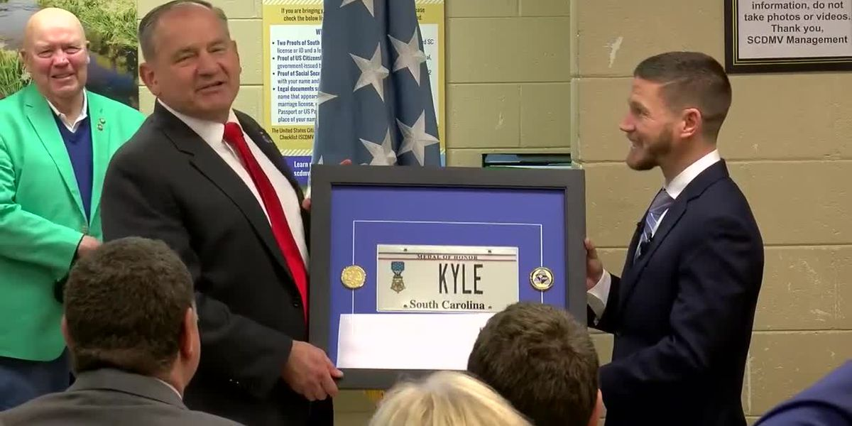 WATCH: SCDMV Batesburg-Leesville branch named in honor of Medal of Honor recipient Kyle Carpenter
