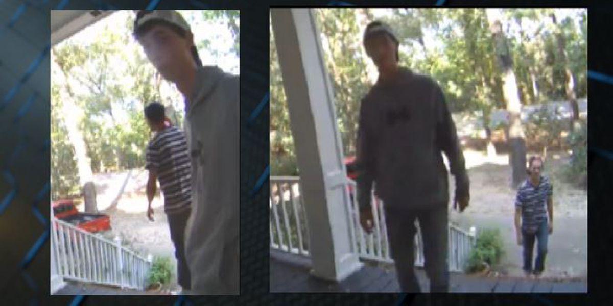 Deputies arrest man caught on surveillance attempting to break in Richland Co. home