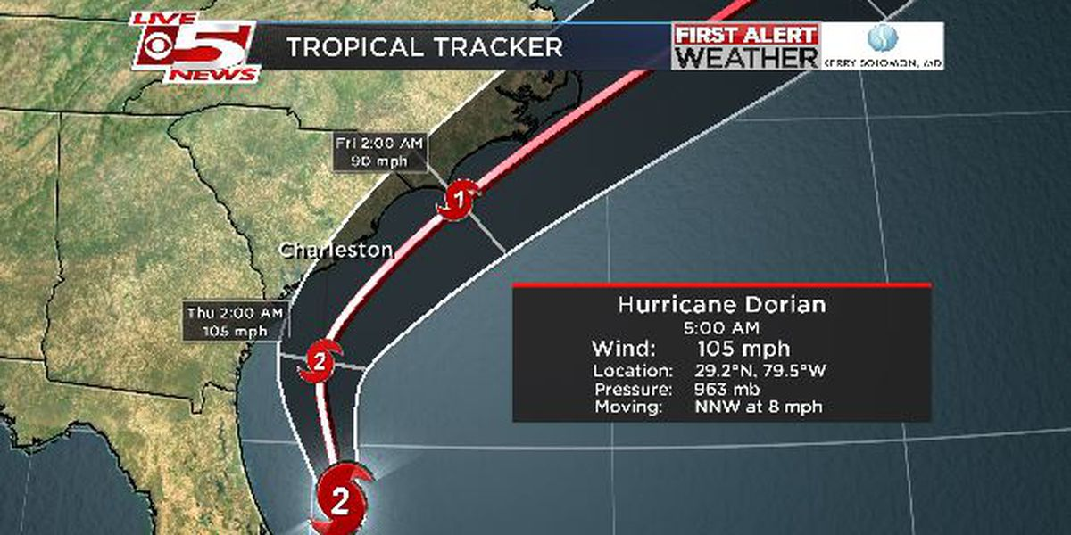 FIRST ALERT: Lowcountry to begin feeling Hurricane Dorian impacts this afternoon