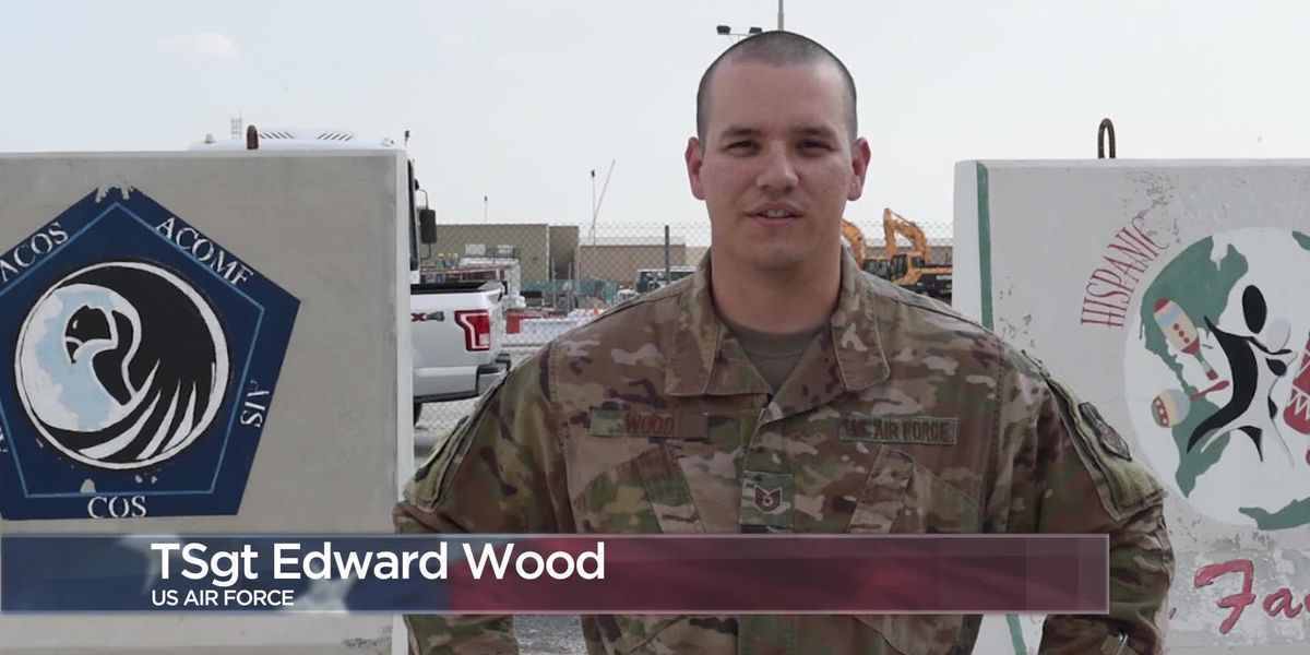 Military Greetings - Tech. Sgt. Edward Wood