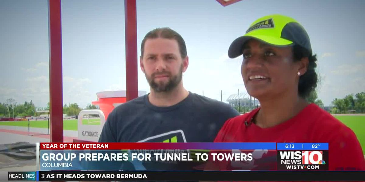 Team RWB Columbia captain gears up for annual Tunnel to Towers race, honoring first responders