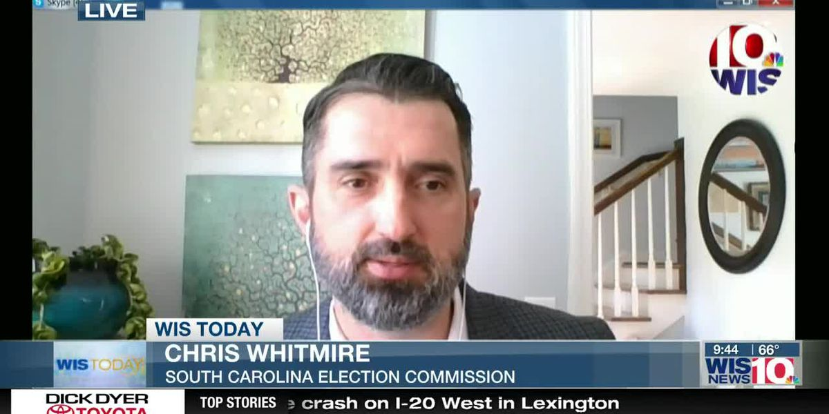 WIS TODAY: Chris Whitmire discusses SC Primary and absentee ballots