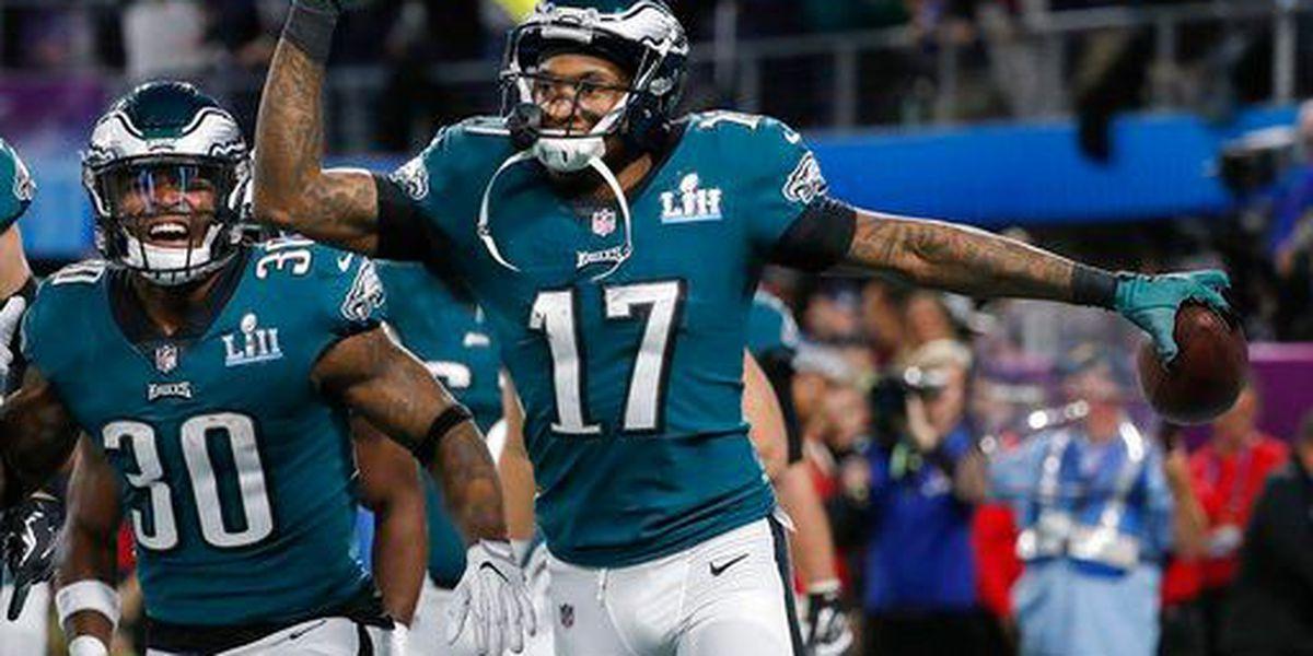 Former Gamecock Jeffery shines in Super Bowl for Eagles