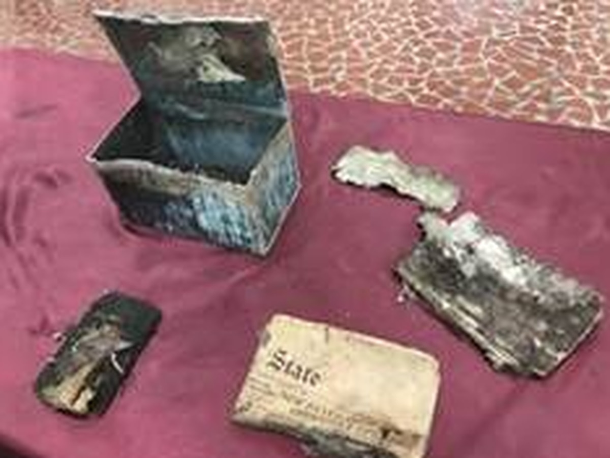 Brookland- Cayce High opens 90-year-old time capsule found on school grounds