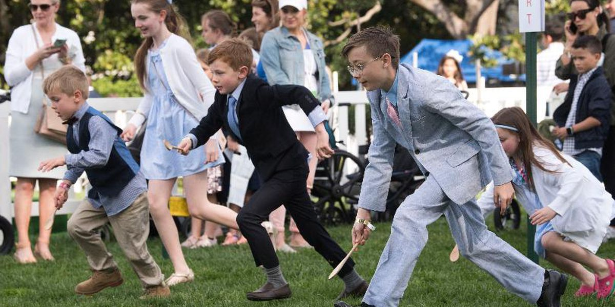 Get ready to roll: Lottery opening for White House Easter Egg Roll