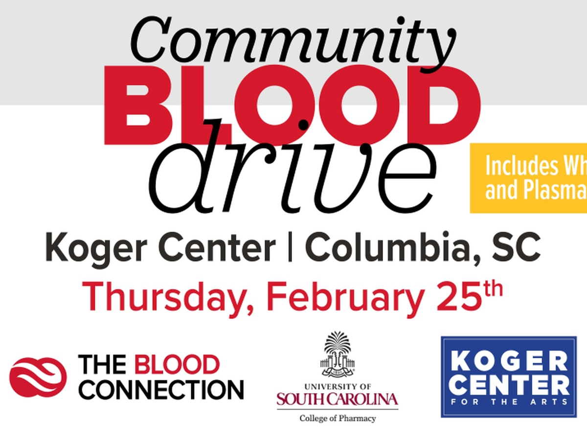 Koger Center blood drive offers $20 gift cards to donors