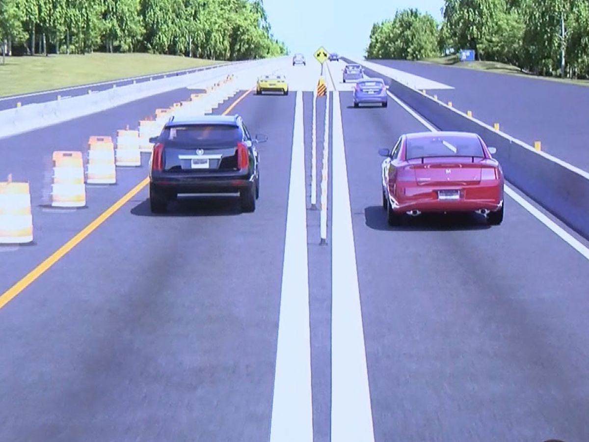 Major lane changes coming to I-20 East construction in Lexington County