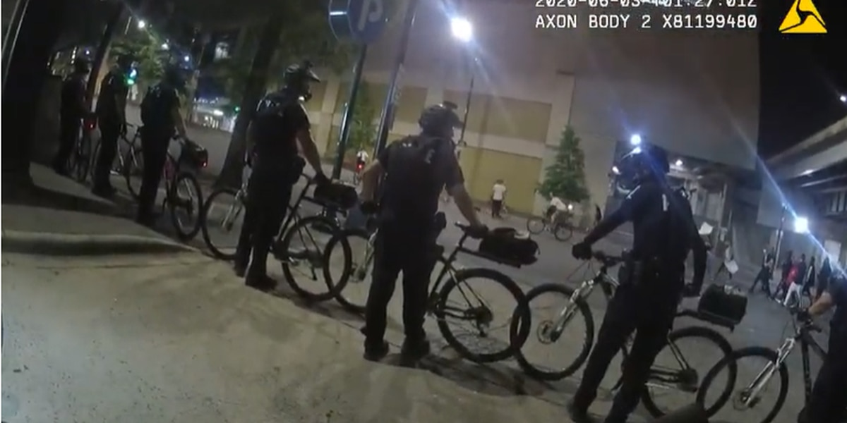 CMPD releases video, disciplines sergeant over 'inappropriate' comments during June 2 tear gas incident