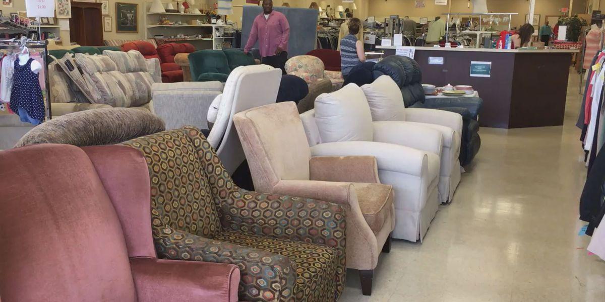 Oliver Gospel Mission benefits from furniture donation