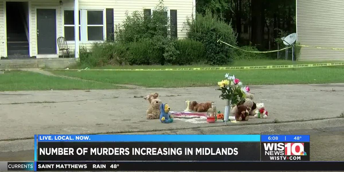 Data shows homicides on the rise in Columbia, Richland County