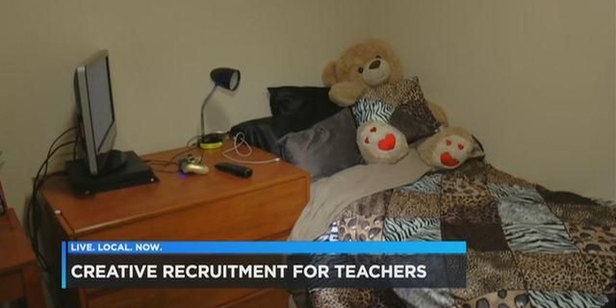 Teachers can rent college dorm rooms to work in this rural SC district