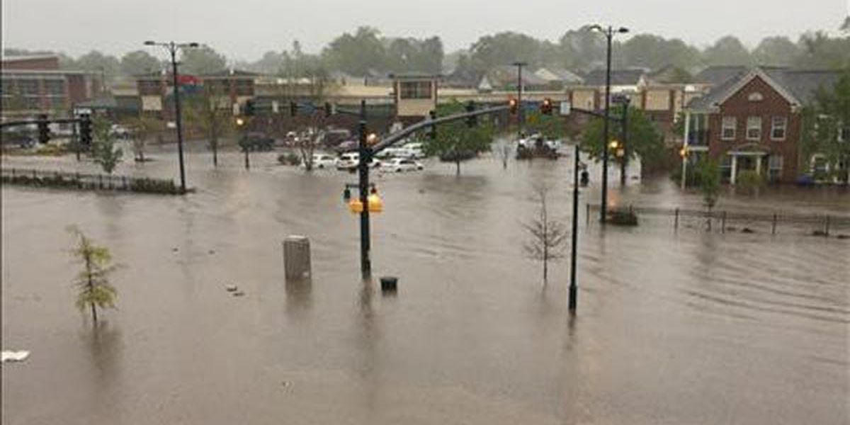 SLIDESHOW: Severe thunderstorms smash the Midlands with winds, flooding rains