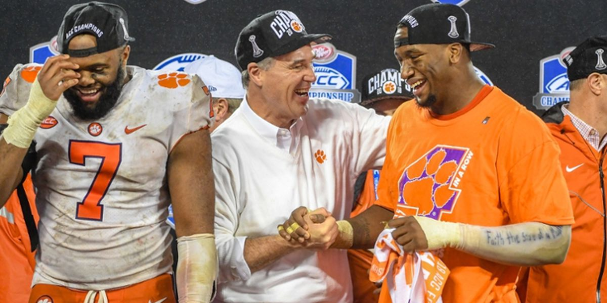 Report: Clemson AD mentioned as candidate for PAC-12 commish