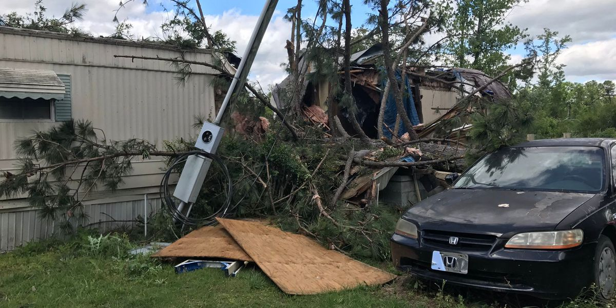 NWS confirms EF-1 tornado touched down in late night Midlands storms