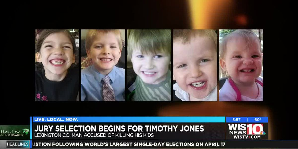 Jury selection starts Monday for trial of SC man charged with killing his 5 children in 2014