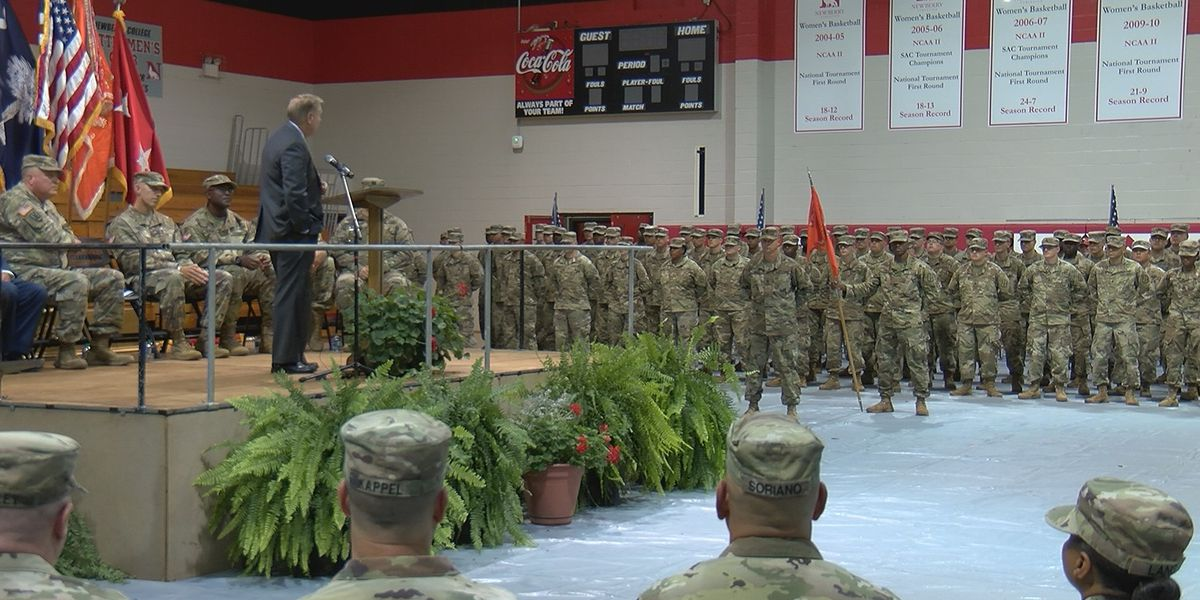 Sen. Lindsey Graham thanks S.C. soldiers, talks Afghanistan, immigration bill