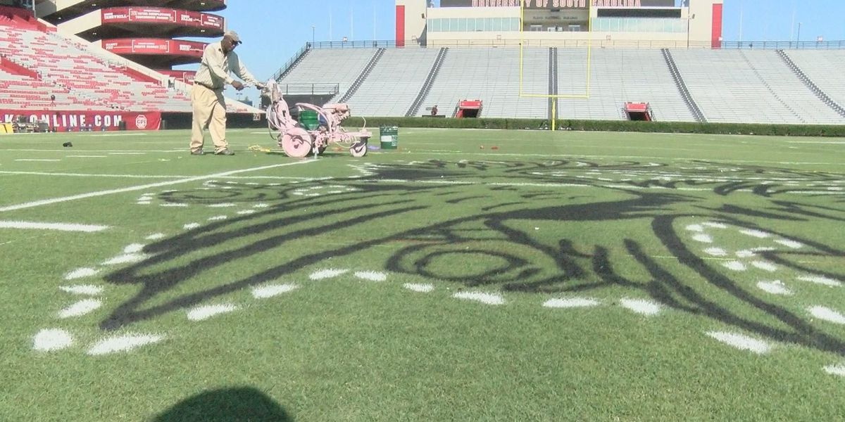 He may paint the field at Williams-Brice, but this Community Builder's true passion is people