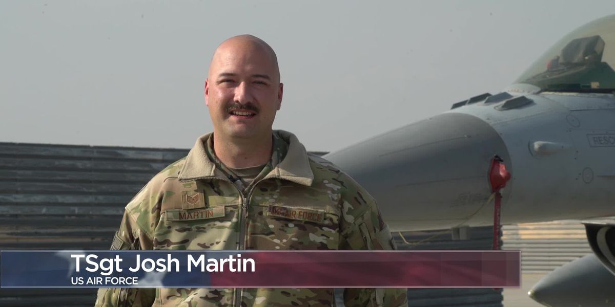 Military Greetings - Tech. Sgt. Josh Martin