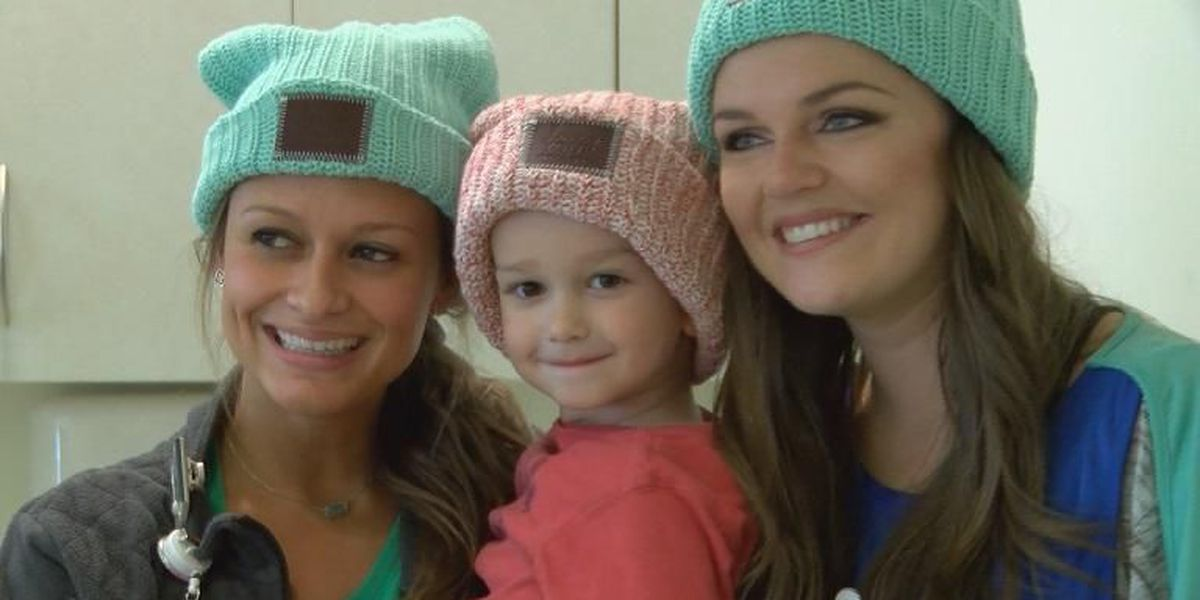Spreading smiles for kids with cancer, one hat at a time