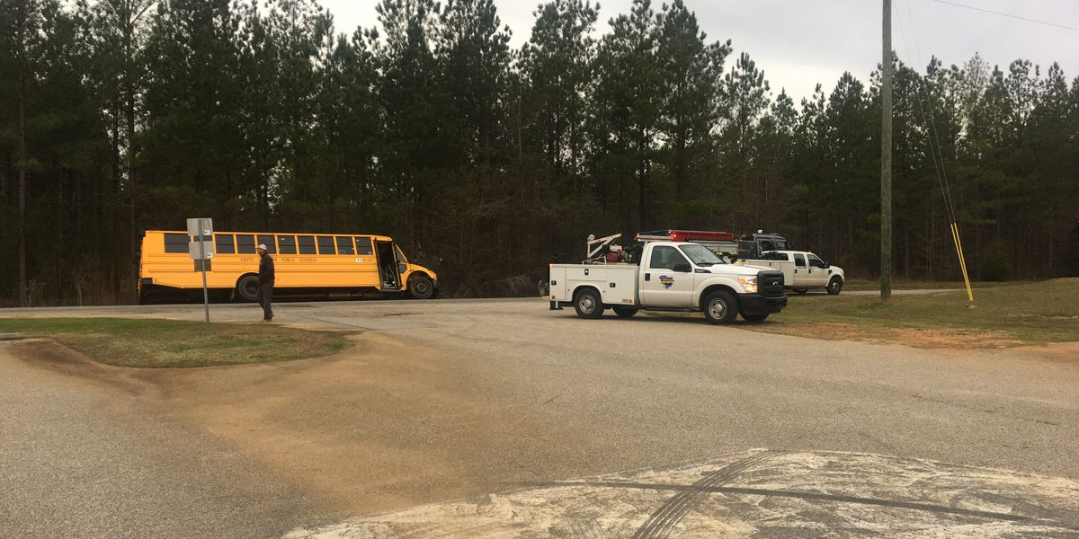 Lexington Co. first responders dispatched to school bus in ditch on Rock N Creek Road
