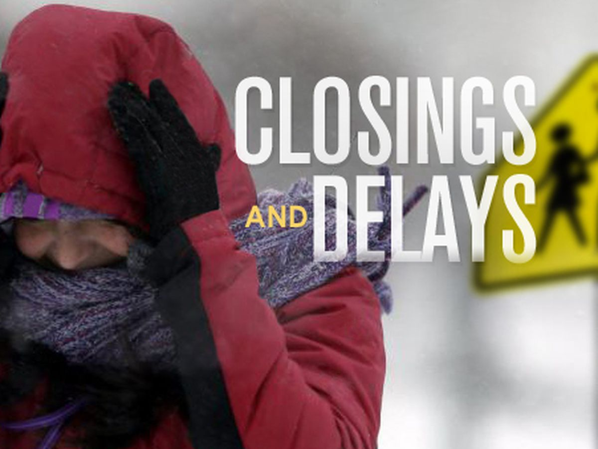Several Midlands school districts announce delayed schedule Friday due to weather