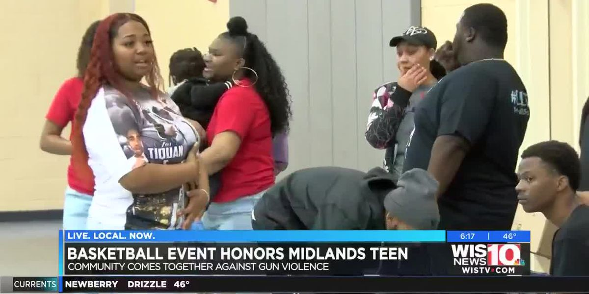 Family, friends gather at basketball event in memory of slain Midlands teen