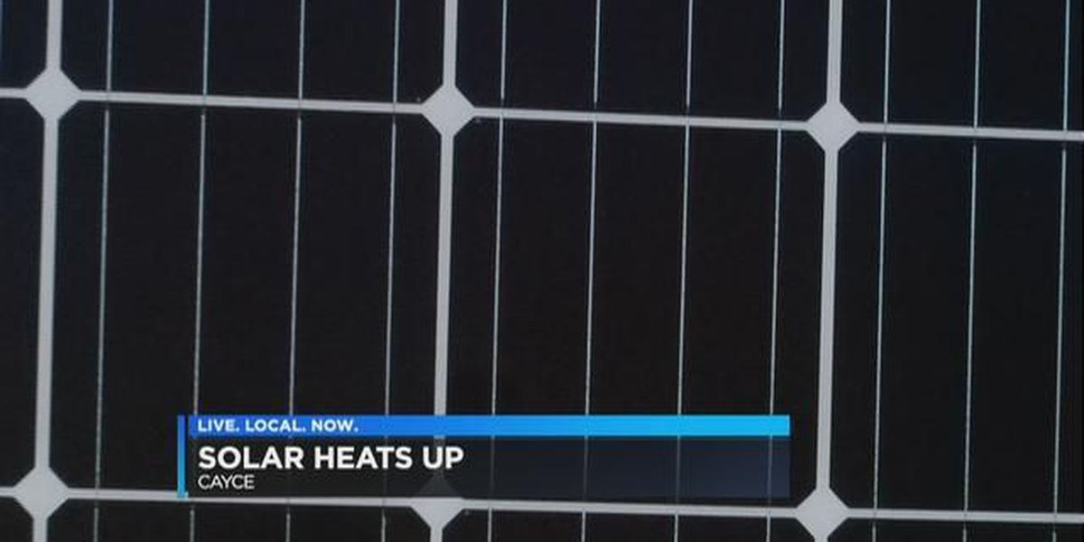 The solar power industry is heating up in South Carolina