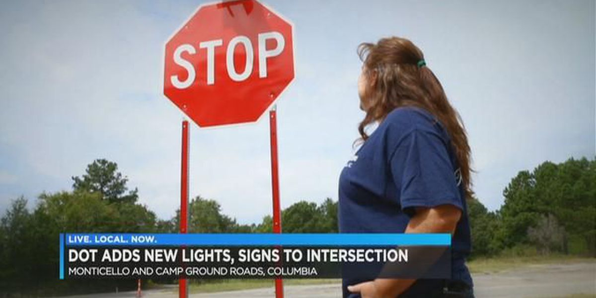 SCDOT adds new lights, signs to deadly Columbia intersection