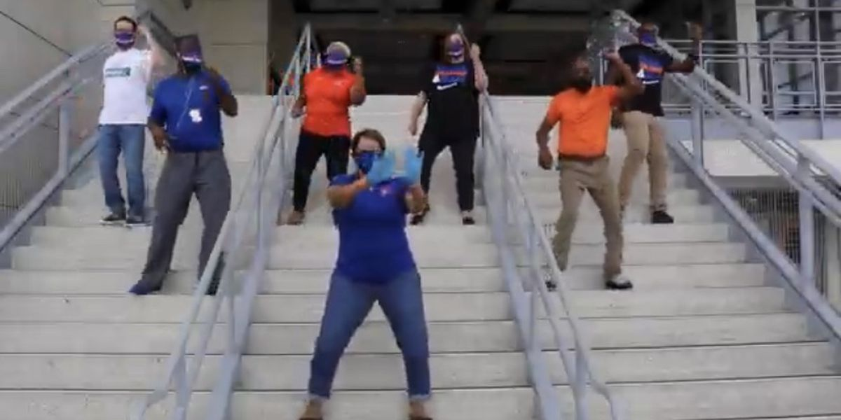 Two SC schools welcome students back with hilarious video