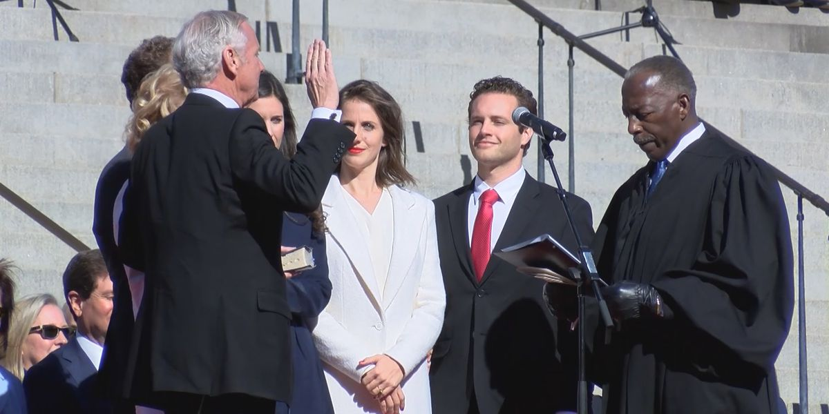 Governor McMaster sworn in, tells South Carolinians future is bright