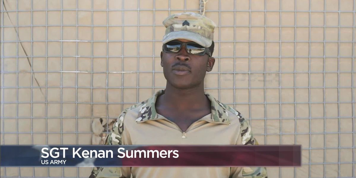 Military Greetings - Sgt. Kenan Summers