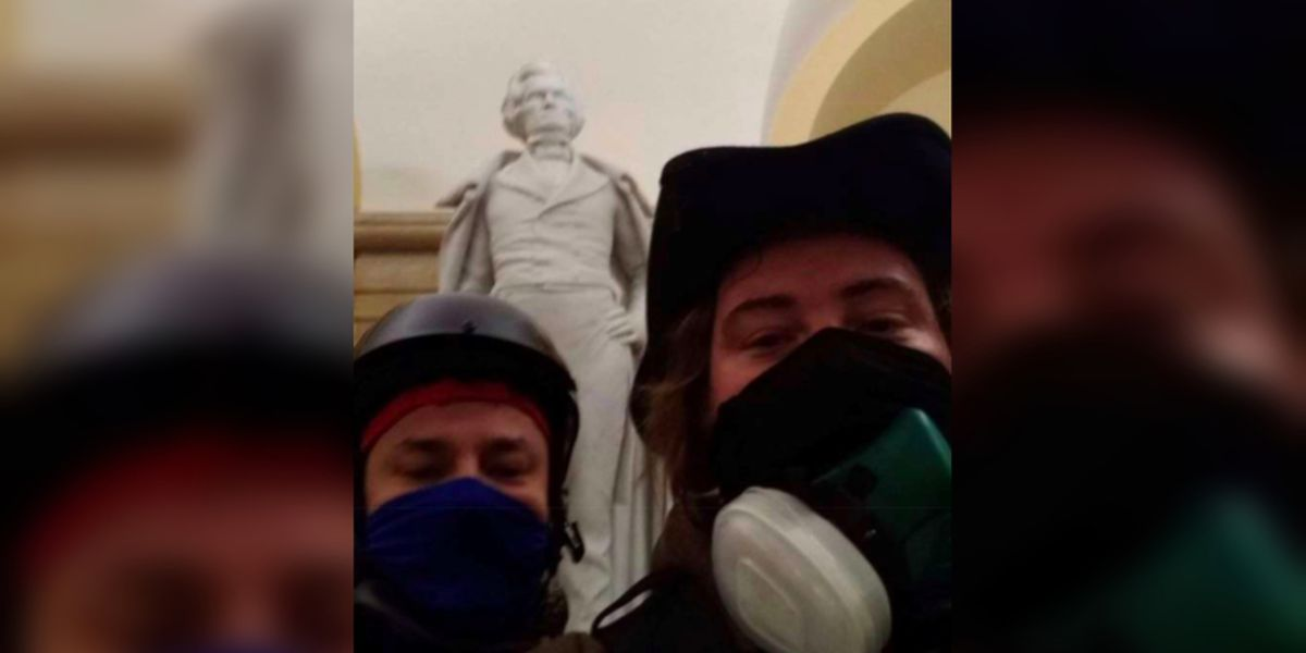 SC man wanted after taking selfie with John C. Calhoun statue during siege of U.S. Capitol