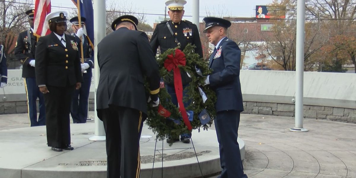 Wreaths Across America Ceremony held at the State House