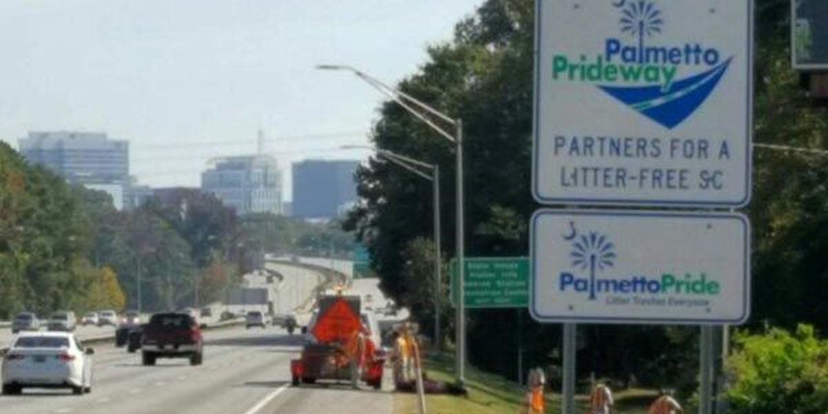 Trashy Interstate 126 finally getting cleaned up after report airs