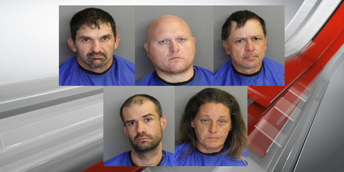5 arrested in catalytic converter theft spree