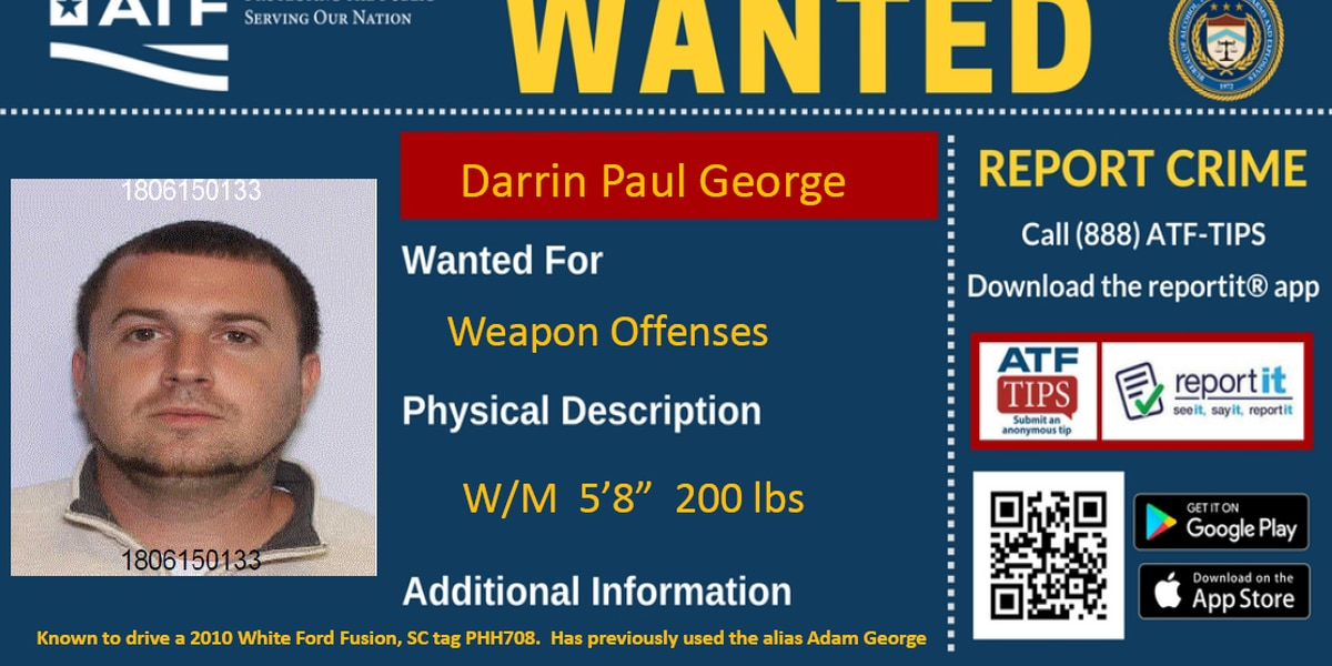 Officials need help finding wanted fugitive in SC