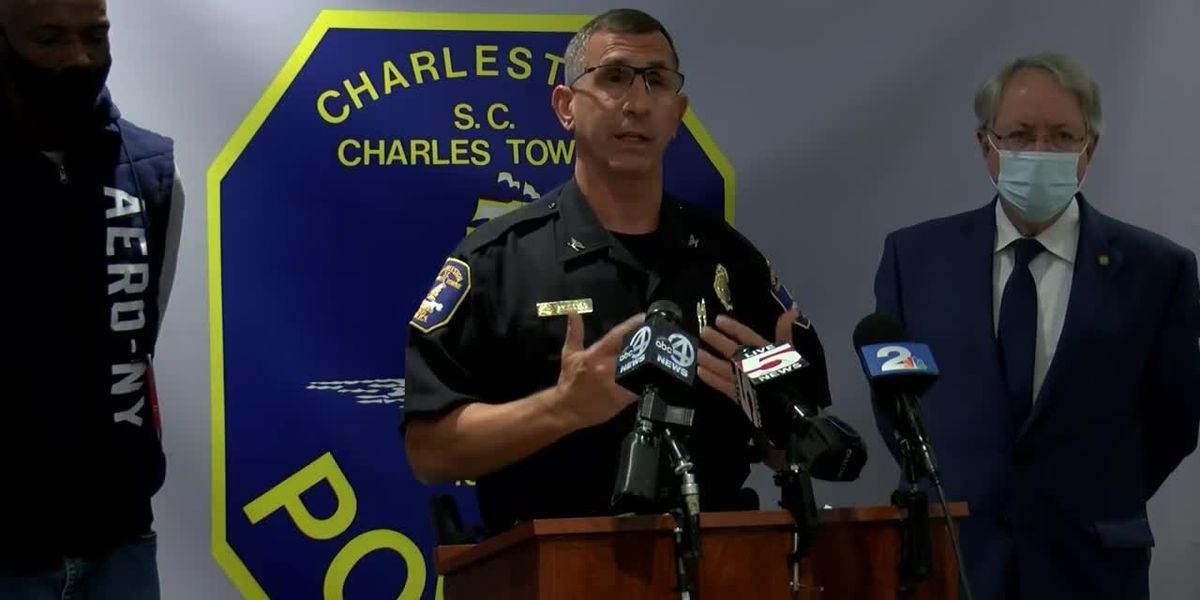 RAW VIDEO: Charleston Police hold news conference on deadly officer-involved shooting