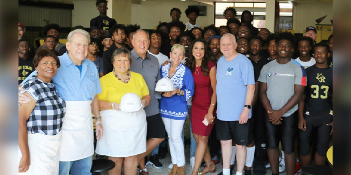 Community Builder: Nourishment for the soul is a touchdown at Lower Richland High School