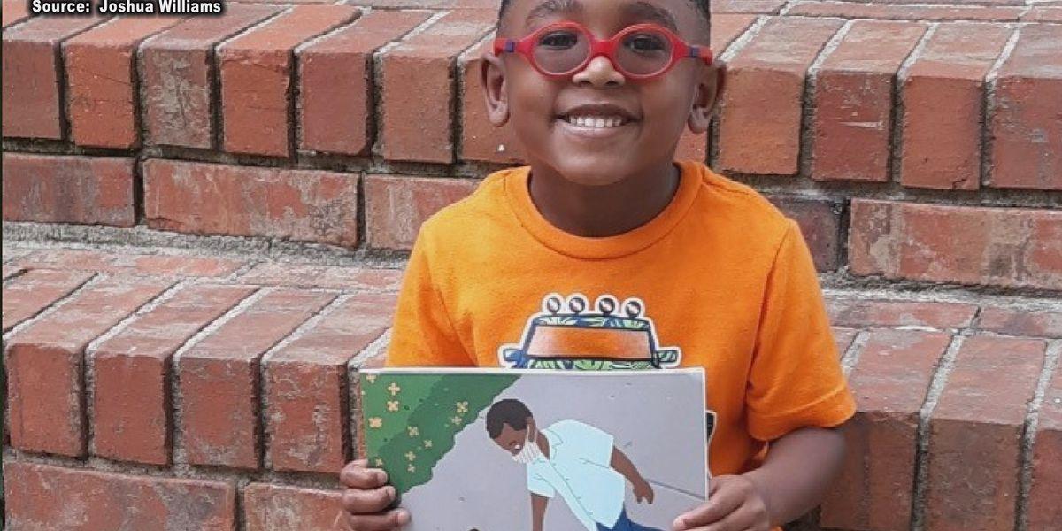 Ga. 5-year-old writes book about pandemic