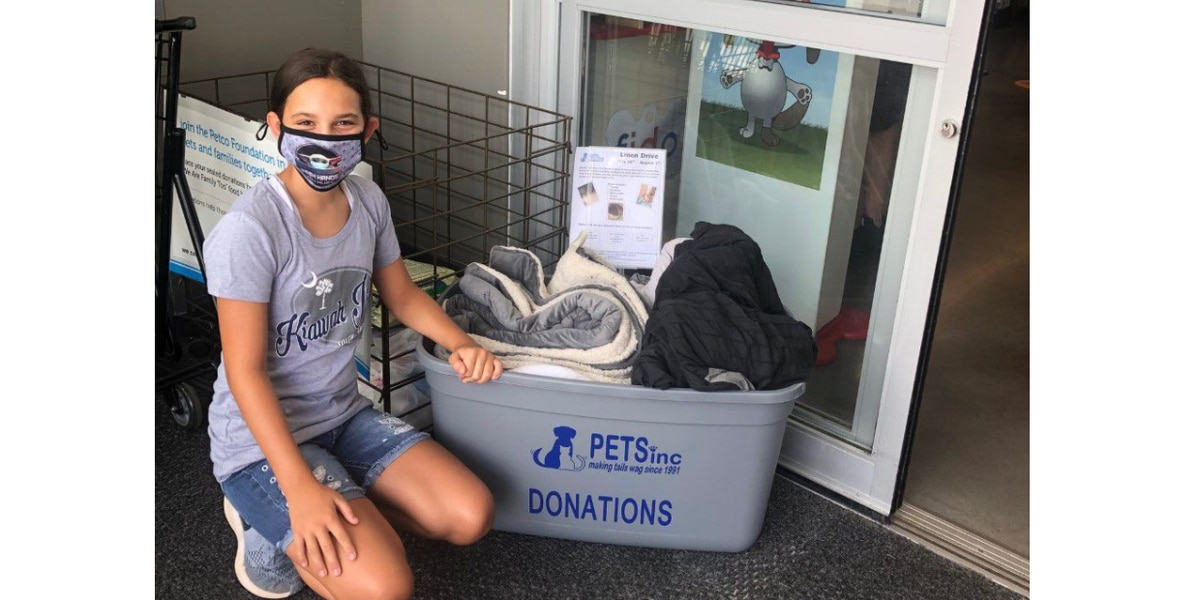 Midlands 7th grader donates time, love to local animal shelter