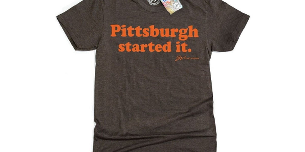 GV Art & Design weighs in on Myles Garrett incident with new shirt: 'Pittsburgh started it'