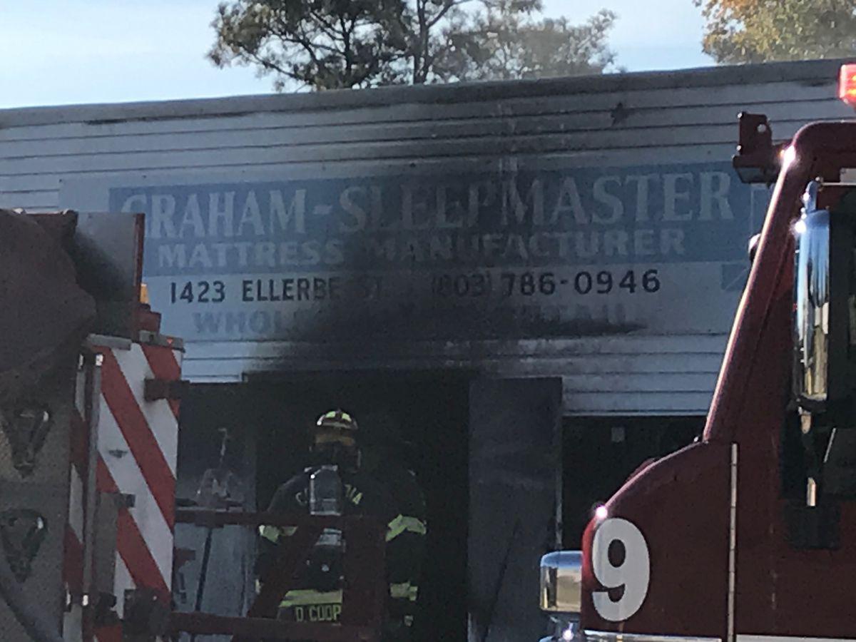Columbia Fire puts out mattress manufacturer fire in Northeast Columbia
