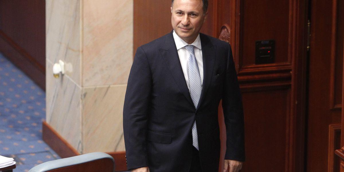 Macedonia ex-leader requests asylum in Hungary