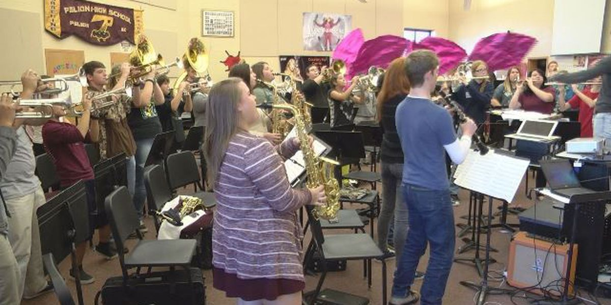 Pelion H.S. Band invited to perform at Pearl Harbor